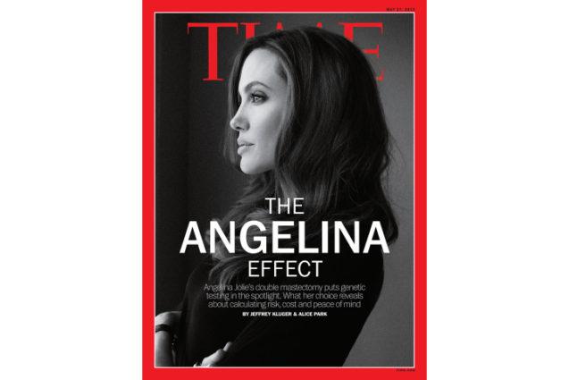 O Efeito Angelina Jolie: impacto verdadeiro ou cenas de cinema?